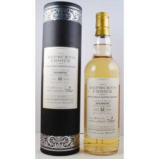 Hepburns Choice Single Malt Auchroisk 2001, 12 Jahre