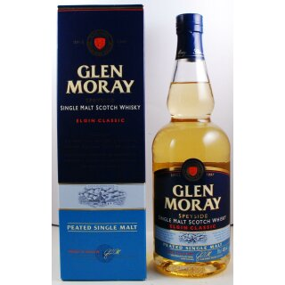 Glen Moray Speyside Peated Single Malt Classic