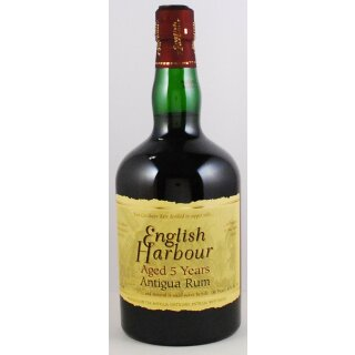 English Harbour 5 Jahre Antigua Rum