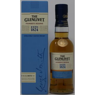 The Glenlivet Founders Reserve Single Malt 0,2l