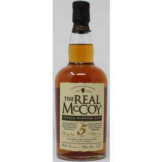The Real McCoy Rum 5 Jahre