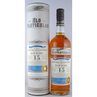 Old Particular Bowmore Distillery 2000 15 Jahre