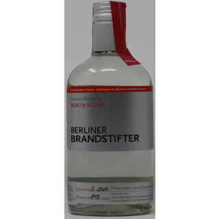 Berliner Brandstifter Vodka 0,35l