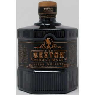 Sexton Single Malt Whiskey