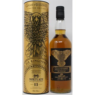 Game of Thrones Six Kingdoms Mortlach 15 Jahre