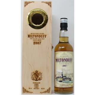 Miltonduff Single Malt Whisky 2007 Edition Meissen