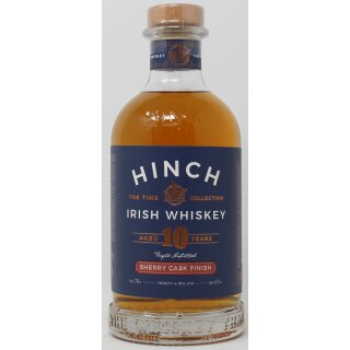 Hinch Irish Whiskey 10 Jahre Sherry Cask Finish