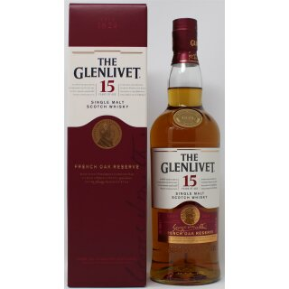 The Glenlivet Single Malt French Oak Reserve 15 Jahre