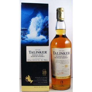 Talisker Single Malt Scotch 18 Jahre