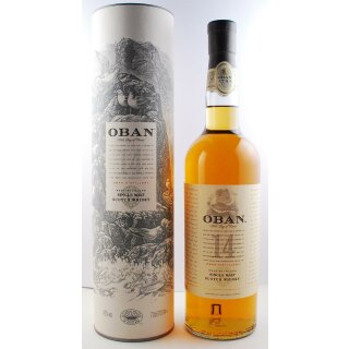 Oban Single Malt Scotch 14 Jahre