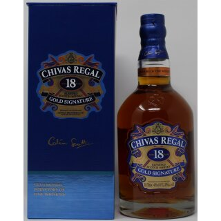 Chivas Regal Gold Signature 18 Jahre