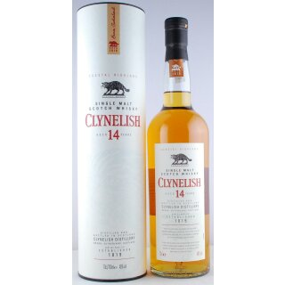 Clynelish Scotch Single Malt Whisky 14 Jahre