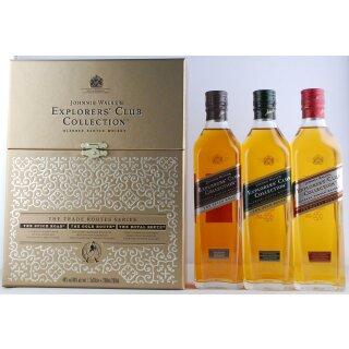 Johnnie Walker Explorers Club Collection