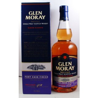 Glen Moray Single Malt Port Cask Finish Classic
