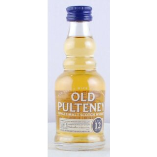Old Pulteney Whisky 12 Jahre 5cl
