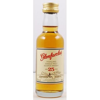 Glenfarclas Single Malt 25 Jahre
