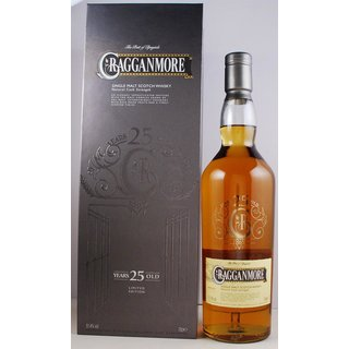 Cragganmore Single Malt Natural Cask Strength 25 Jahre