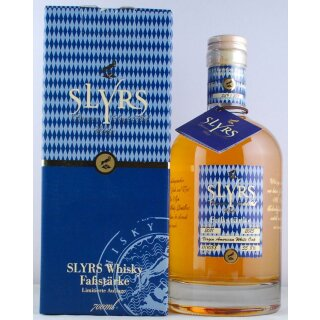 Slyrs Bavaria Single Malt Whisky Faßstärke 2011