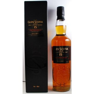 Glen Scotia Distillery 15 Jahre